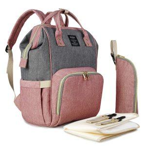 QIMIAO Baby Diaper Bag Backpack