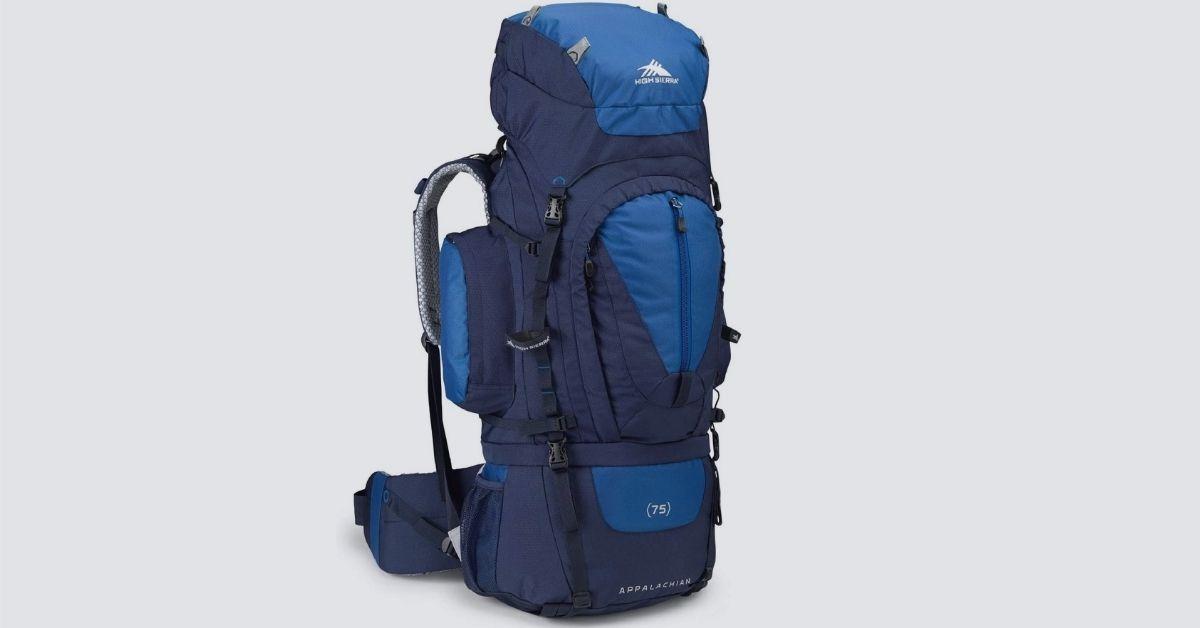 high sierra appalachian 75 hiking backpack review